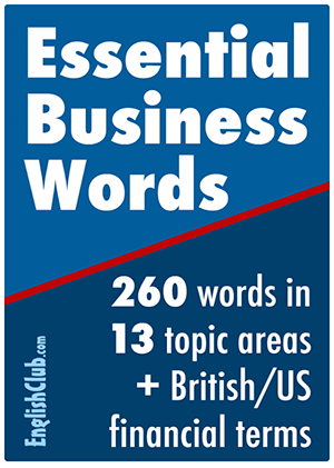Essential Business Words - PDF ebook for immediate download