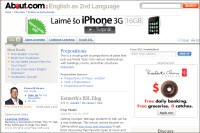 About.com: English as a 2nd Language