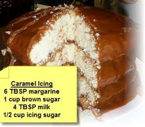 caramel icing