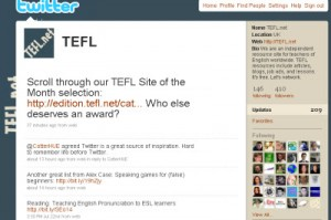 TEFL.net on twitter