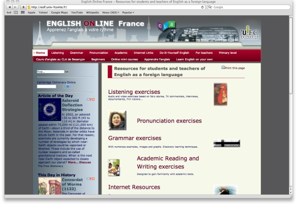 English Online France