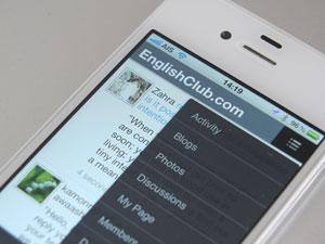 MyEnglishClub mobile