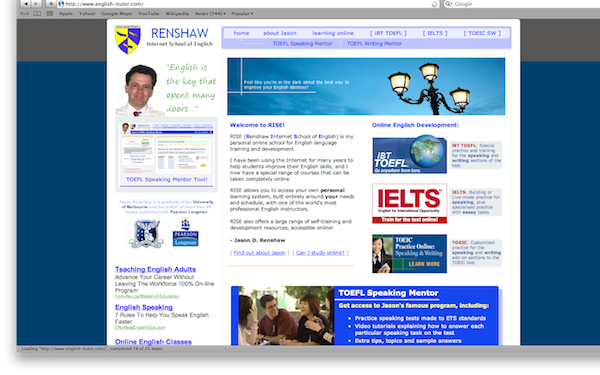 Renshaw Internet School of English