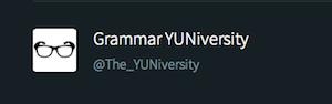 Grammar Yuniversity