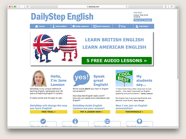 Daily Step English