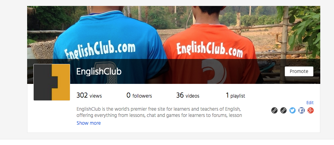 EnglishClub is on Daily Motion