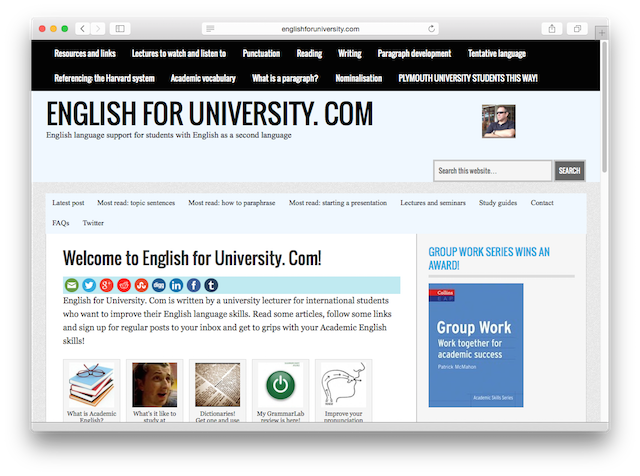 English for University