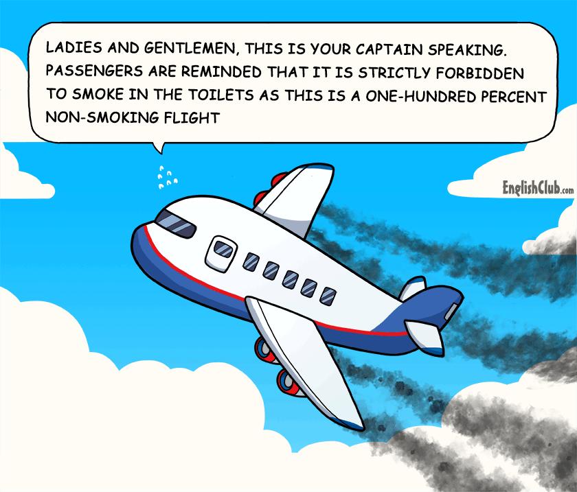 Non-Smoking Flight
