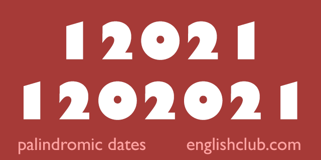 palindromes 12021 and 1202021