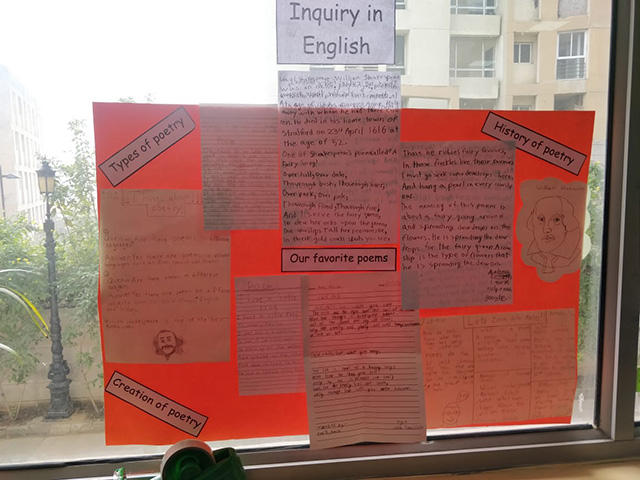 Inquiry in English