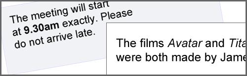 underline name of play in essay