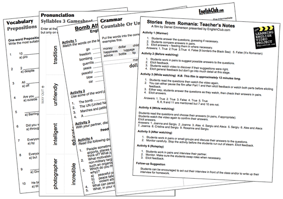 Extra Credit Work Sheets Lessons Tes Teach – Worksheets for Esl Students