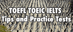 TOEFL TOEIC IELTS