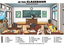 Classroom Vocab Poster
