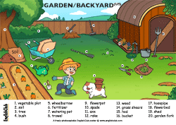 Garden/Backyard Vocab