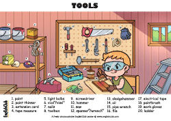 Tools Vocab