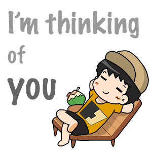 I'm thinking of you