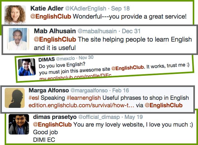 Comments about English Club