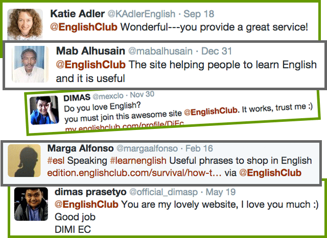 Comments about EnglishClub