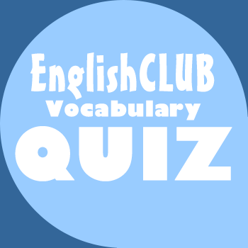 English Vocabulary Quiz for ESL learners