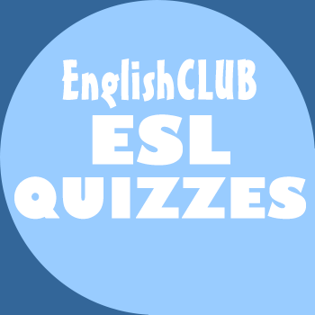 Quiz for ESL learners