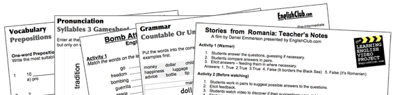 ESL Worksheets – Worksheets for Esl Students