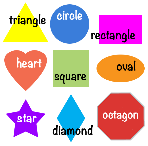 Shapes For Kids Kids Englishclub