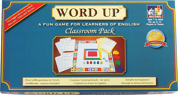 WORD UP ESL board game - Classroom Pack