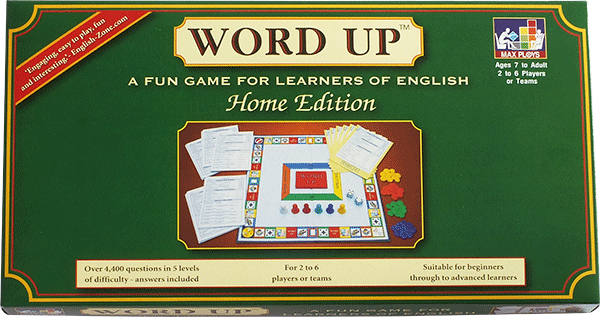 WORD UP ESL board game