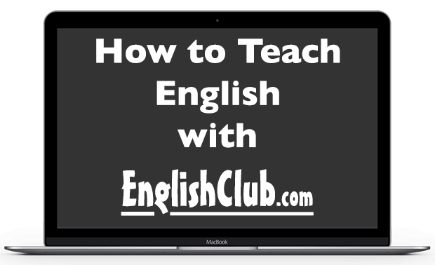 Computer screen - How to Teache English with EnglishClub