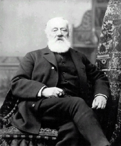 Italian-born Antonio Meucci, seen by many as the real inventor of the telephone