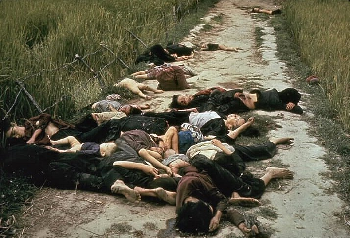 American soldiers killed hundreds of men, women and children in the My Lai massacre