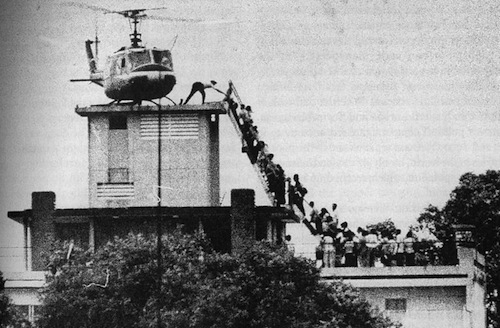 Evacuation of American personnel from Saigon