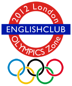 EnglishClub 2012 London Olympics Zone logo