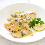 scaloppine and lemon sauce