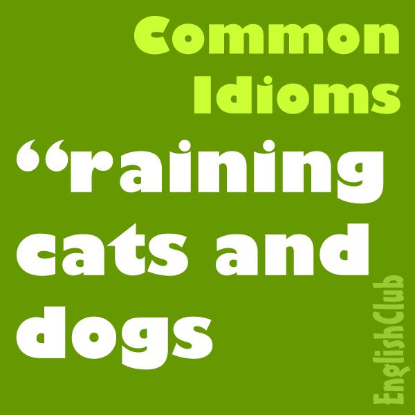 Common Idioms Vocabulary Englishclub