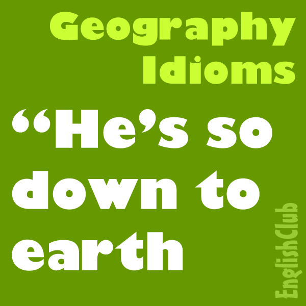 geography idioms