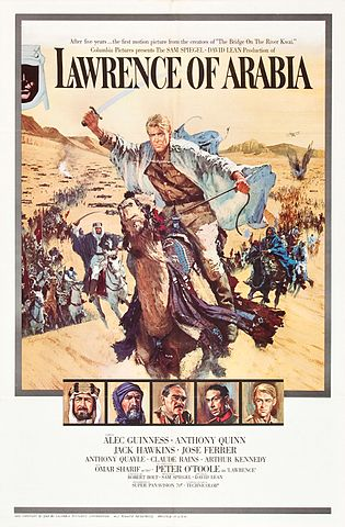 Movie poster for Lawrence of Arabia