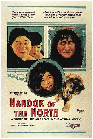 Movie poster for Nanook of the North