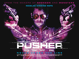 Poster for 2012 action movie The Pusher