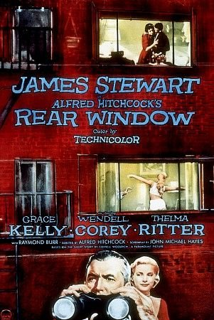 movie poster for Alfred Hitchcock's Rear Window