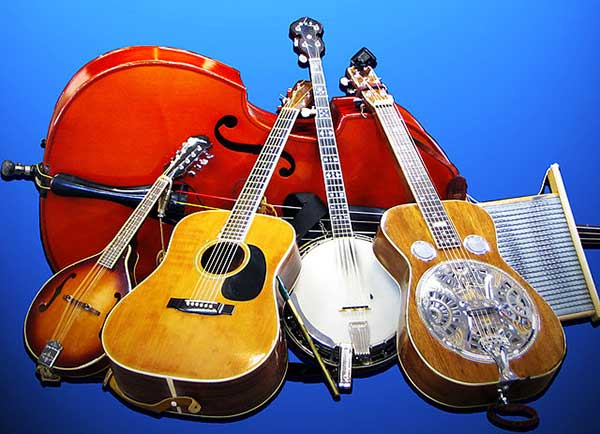 Some country music instruments