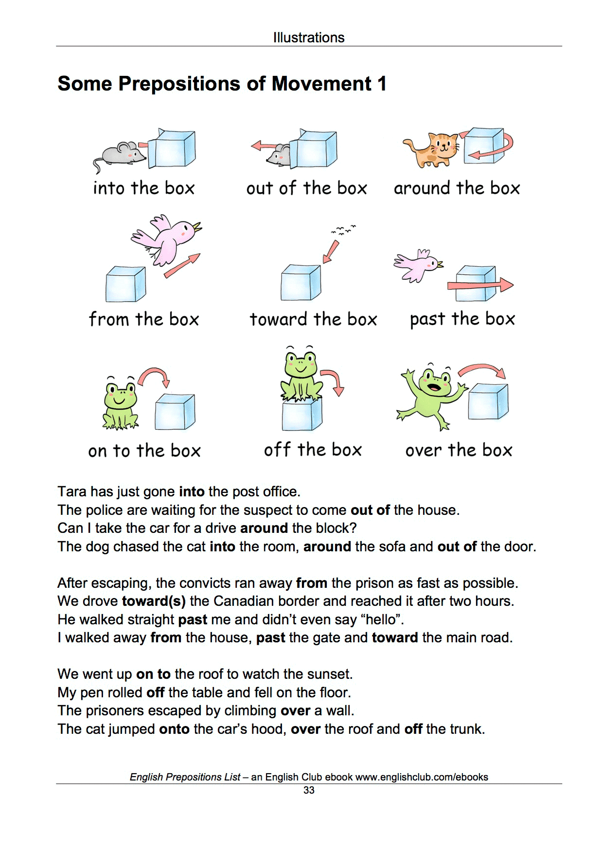 It's just an image of Old Fashioned Printable List of Prepositions