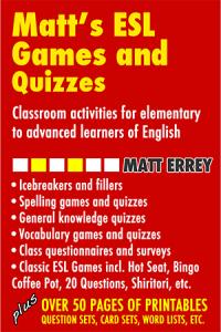 Matt's ESL Games & Quizzes