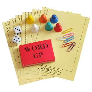 Word Up question sheet holders