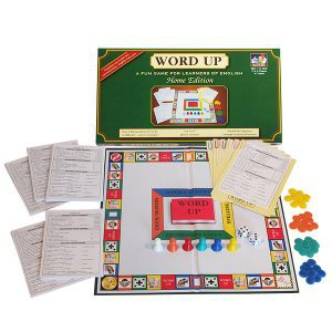 Word Up Home Edition ESL board game for English Learners