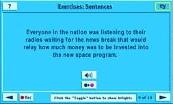 Sentence Exercise