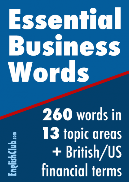 Essential Business Words cover
