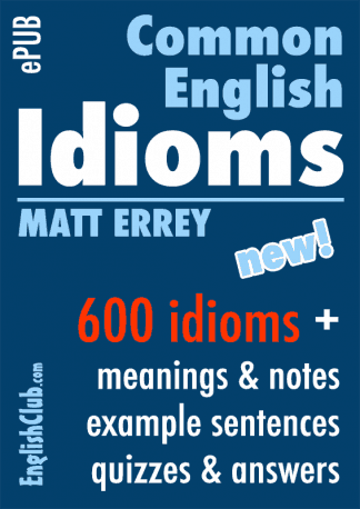 Common English Idioms ePUB